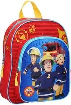 Fireman Sam Fire Alarm Kinderrugzak - 6,9 l - Rood