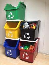 Multi-Recycler opbergbox 23 liter - 5 stuks