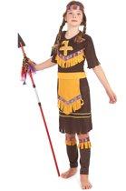 Indianen kostuum voor meisjes - Verkleedkleding - Maat 104/116