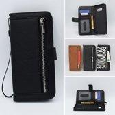 Bookcase APPLE IPHONE XR ZWART +Portemonnee
