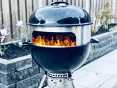Grill Masters Pizzaring Designer set voor Weber 47cm ronde barbecue