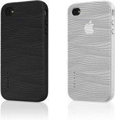Belkin Grip Groove Hoes voor Apple iPod Touch 4G - 2 Stuks - Zwart/Transparant