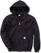 Carhartt Zip Front Sweatshirt-BLK-L