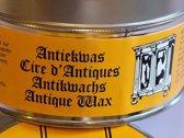 Kwiek antiekwas - 2 blikken meubelwas - LICHT BRUIN en DONKER BRUIN