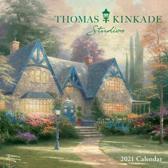 Thomas Kinkade Studios 2021 Mini Wall Calendar