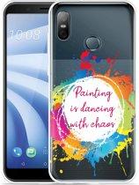 HTC U12 Life Hoesje Painting