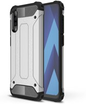 Samsung Galaxy A50 Hoesje - Armor Hybrid - Grijs