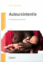 Colleges Literatuur 1 - Auteursintentie