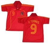 Spanje Voetbalshirt Torres Senior Rood Maat Xxl