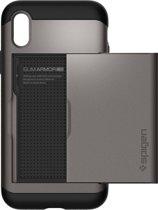 Spigen Donkergrijs Slim Armor CS Case iPhone X