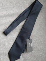 Hugo Boss zijden stropdas blauw
