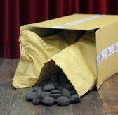 Briketten 12kg + gratis pakje aanmaakblokjes
