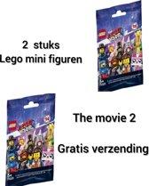 LEGO Minifigures The Movie 2 - 71023 ontvang 2 stuks   - (2 stuks gratis verzending)