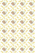 Monkey Notebook: Beautiful Brown Monkey & Yellow Banana Notebook to Write In Cute Blank Lined Safari Jungle Monkey Journal for Taking N