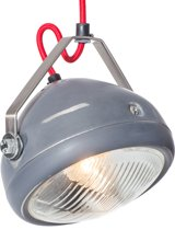 Het Lichtlab No.5 - Hanglamp - Grijs