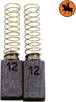Koolborstelset voor AEG Boor 349145 - 5x8x14mm