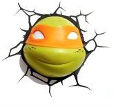 Ninja Turtles Michelangelo - Wandlamp - LED