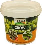 TOPBUXUS GROW TURBO, creëert snel weer groene Buxus, 500gr voor 10m2 Buxus.