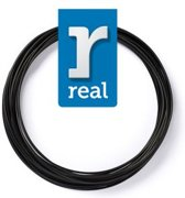 10m High-quality PETG 3D-pen Filament van Real Filament kleur zwart