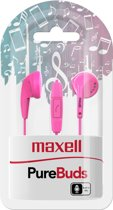 Maxell PureBuds with mic pink