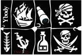 Stencil Pirates Y body