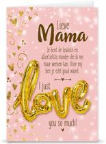"""Love ballon """"Lieve mama"""""""