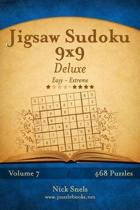 Jigsaw Sudoku 9x9 Deluxe - Easy to Extreme - Volume 7 - 468 Puzzles