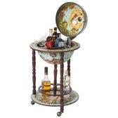 Brulo - Wereldbol - Globe - Globebar - barglobe Leichhardt 36 cm