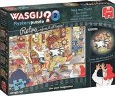 Wasgij Retro Mystery 2 Stop de Klok Zomertijd Puzzel 1000 Stukjes