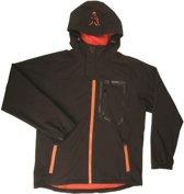 Fox Black Orange Softshell Jacket | Maat L