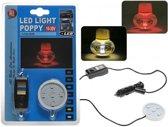ProCar - Poppy led station - Poppy led base - Poppy luchtje - Poppy auto - Poppy led - Poppy luchtverfrisser - Luchtverfrisser auto - Vrachtwagen accessoires - Lucht verfrisser