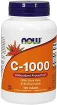 Vitamin C-1000 with Rose Hips & Bioflavonoids 100tabl