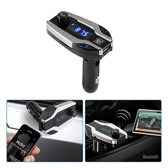 Bluetooth FM Transmitter voor in de auto - ZT – Handsfree bellen carkit met AUX / SD kaart / USB - Ingangen - Bluetooth Handsfree Carkits / adapter / auto bluetooth / LCD Display - X7 FM Transmitter