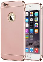 Colorfone PREMIUM BackCover 3 in 1 / Cover / Hoes / Case voor de Apple iPhone 6/6S Plus Roze Rose Goud
