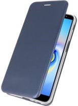 Wicked Narwal   Slim Folio Case voor Samsung Samsung Galaxy J6 Plus Navy