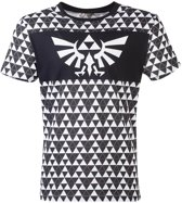 Zelda - Triforce Checker Men s T-shirt - 2XL