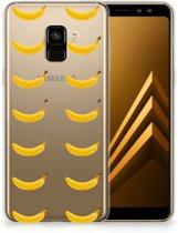 Samsung Galaxy A8 Plus (2018) Siliconen Case Banana