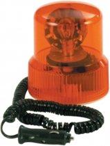 Carpoint Zwaailamp 12v -21w Oranje met magnetische voet