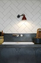 KitchenWalls keukenbehang Herringbone 14351