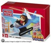 Mega bloks Blok town helicopter 357