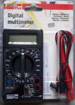 Digitale Multimeter DT-830B Select Plus - Cat 1 - Max. 240V - inclusief 9V Batterij - Spanningsmeter - Meetkabels - Elektra