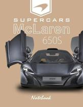 Supercars McLaren 650s Notebook