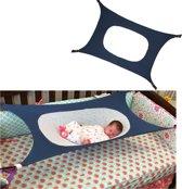 Baby hangmat premium® | Hangmat | Box kleed | Baby hangmat | Comfort | Veiligheid voor baby | Safety Design | Fleece | Verstelbaar | Donkerblauw |Baby Hangmat Box Prenatal