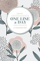 Journal - One Line a Day: A 5-Year Memory Book - 5-Year Journal - 5-Year Diary - Notebook for Keepsake Memories and Journaling