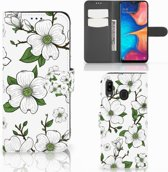 Samsung Galaxy A30 Hoesje Dogwood Flowers