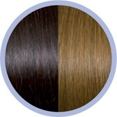 Euro So.Cap. Classic Extensions Donker Kastanjebruin / Blond 4/14 10x50-55cm