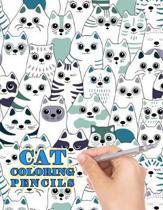 Cat Coloring Pencils