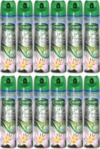 Charm Luchtverfrisser Lily White Flowers - 12 x 240 ml - voordeelverpakking