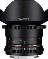 Samyang 14mm T3.1 VDSLR II - voor micro four thirds