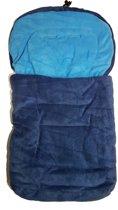 ISI MINI - Voetenzak - Fleece - autostoel 0 - Blauw / Aqua